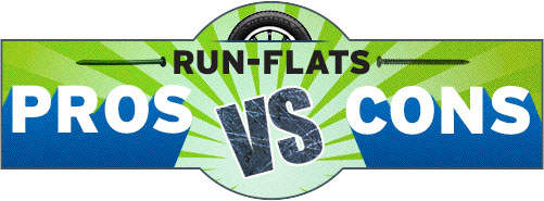 run flat tires pros and cons