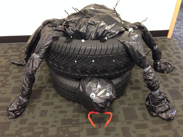 tire beetle