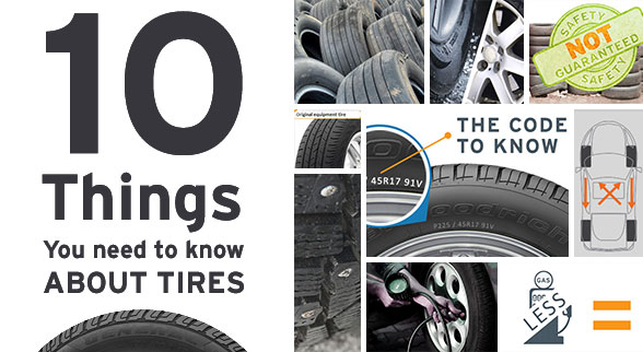 10 things you need to know about tires