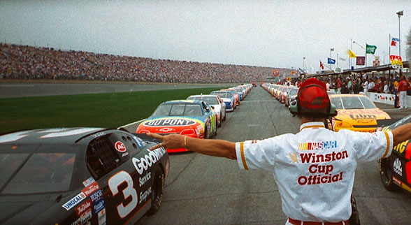1995 daytona 500 starting lineup