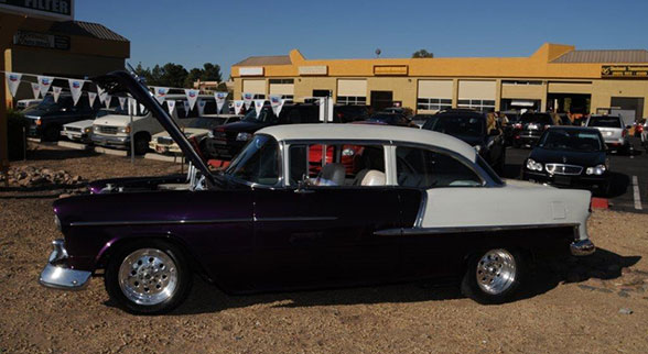 Howard Fleischmann's 1955 Chevy Bel Air