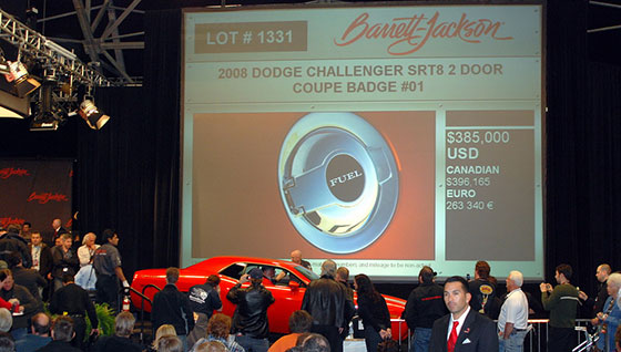 2008 Dodge Challenger Coupe at Barrett-Jackson auction