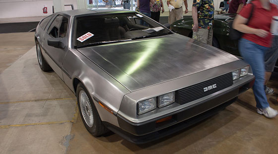 1981 DeLorean at 2011 Barrett-Jackson auction