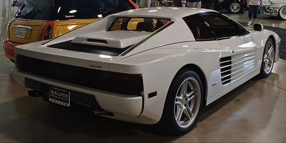 1989 Ferrari Testarossa at Barrett-Jackson auction