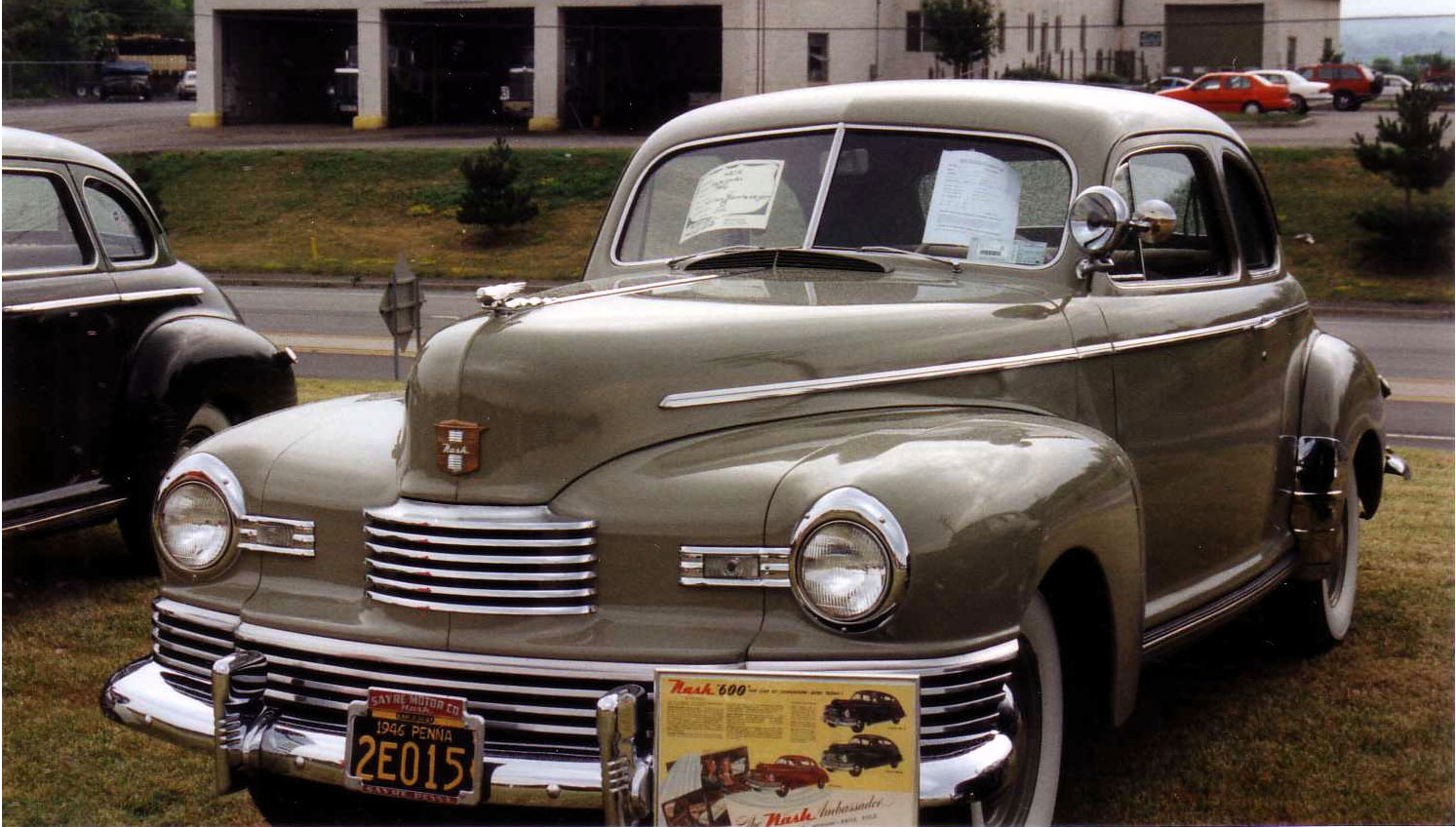 Cars We Love 1946 Nash 600 Sedan