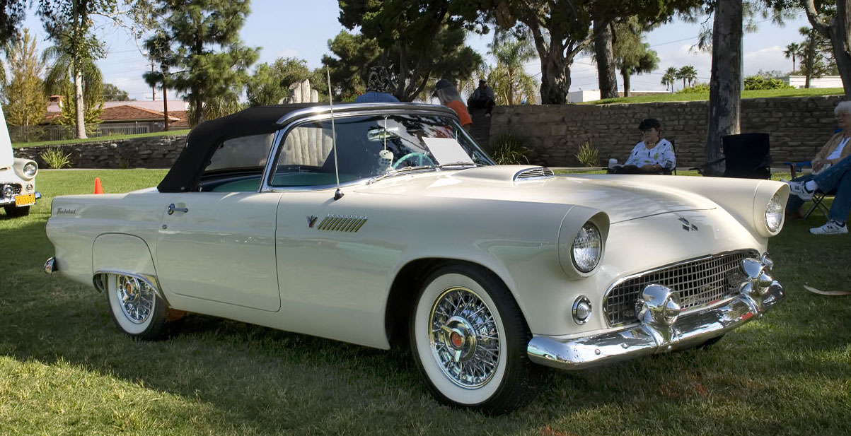 White Tire Paint >> 1955 Ford Thunderbird | TireBuyer.com