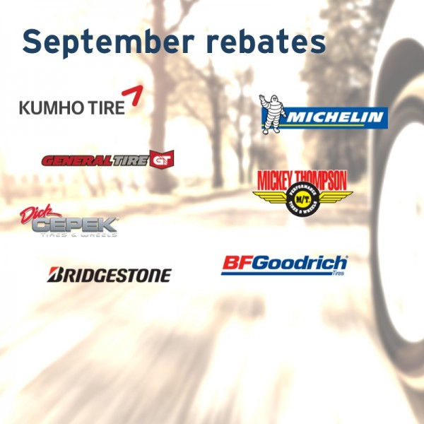 tirebuyer september 2015 rebates