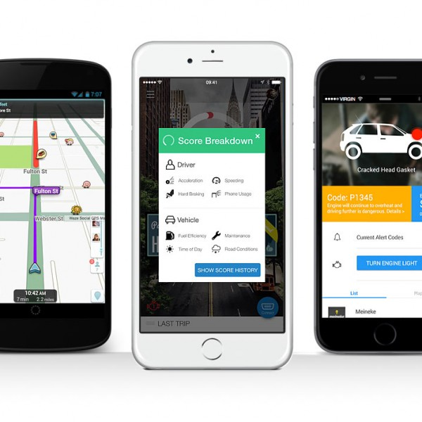 commuter apps on phones