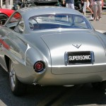 1943 Fiat 8v Supersonic rear view