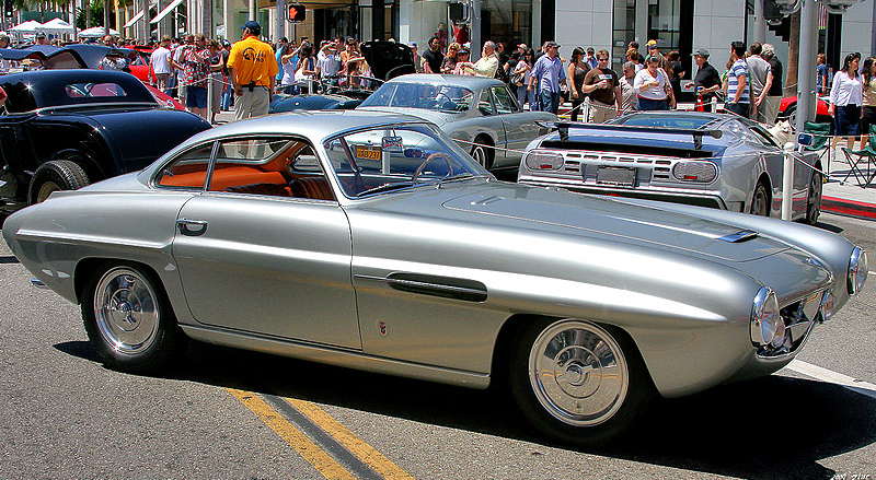 1954 Fiat 8V Ghia Supersonic Coupe