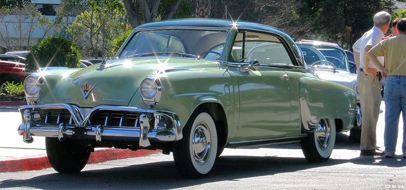 1952 Studebaker Commander Starliner Coupe