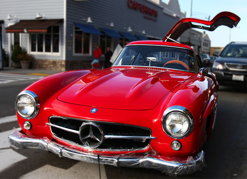 1954-1957 Mercedes-Benz 300 SL Coupe