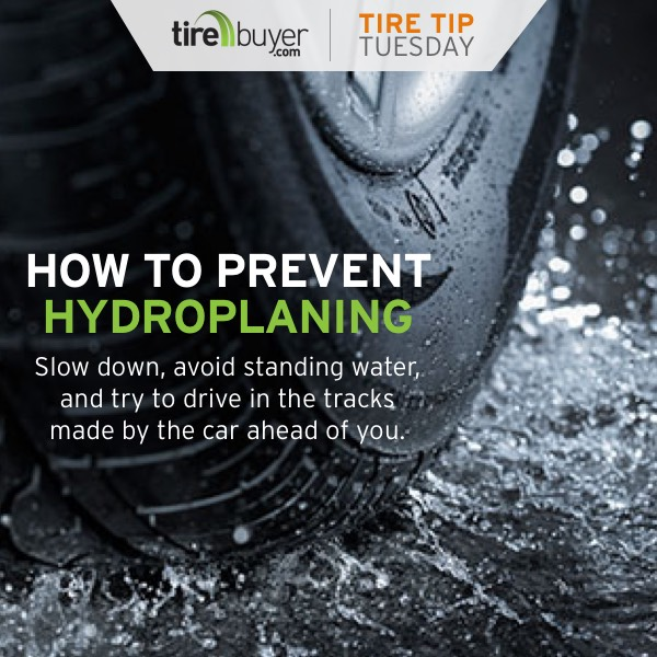 How to Prevent Hydroplaning. Slow down, avoid standing water, and try to drive in the tracks made by the car ahead of you.