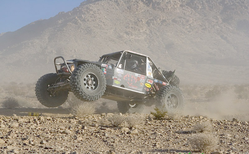 King of the Hammers car
