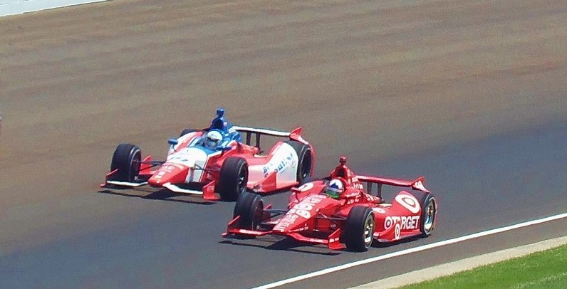 Racing at the Indy 500