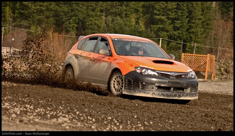 Driving in Rally School
