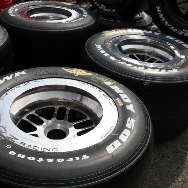 Indy 500 Firestone tires