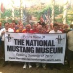 National Mustang Museum Ceremony