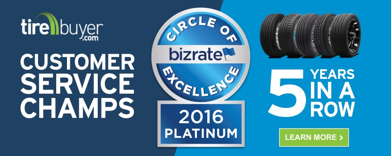 Bizrate Platinum Circle of Excellence Award