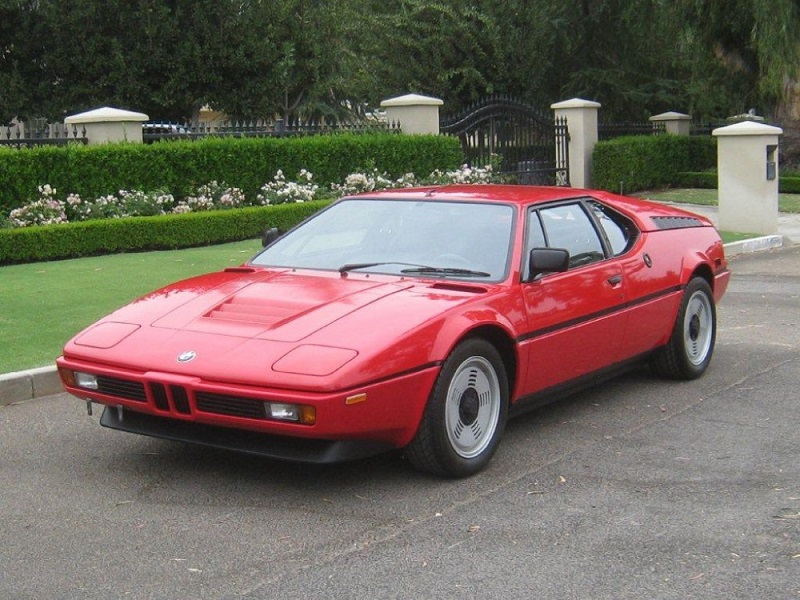 Cars We Love BMW M TireBuyercom Blog - 1981 bmw m1 for sale