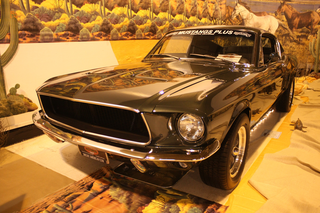 Replica of 1968 Mustang from Bullitt