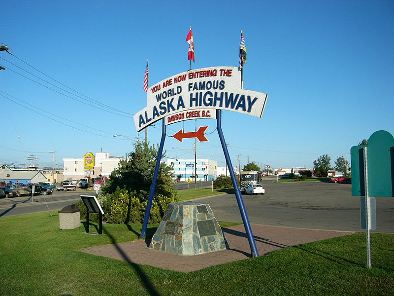 Alaska Highway Entrance