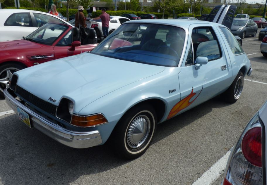 "Party on in this replica of the AMC pacer from ""Wayne's World"""