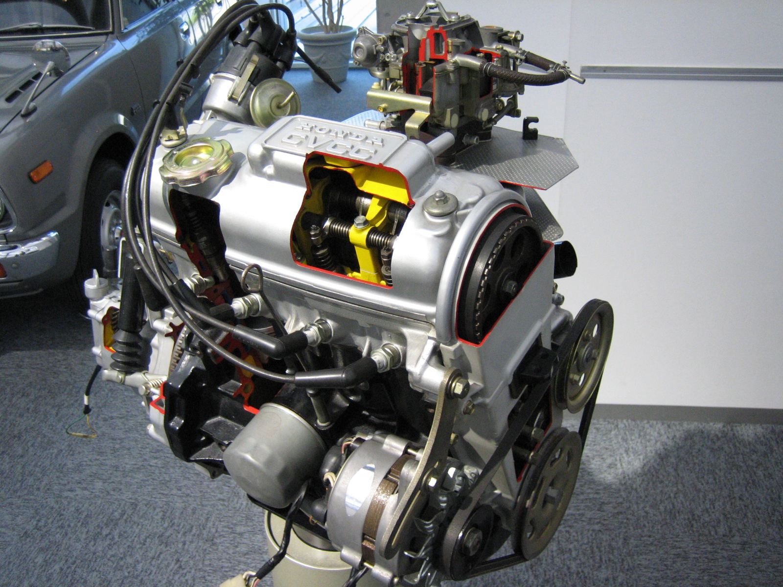 CVCC engine