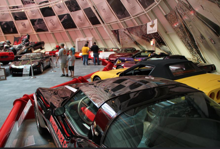 National Corvette Museum at Bowling Green, Kentucky
