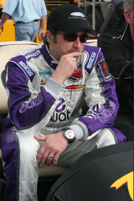 Patrick Dempsey at the Rolex 24 Hours Daytona race in 2008