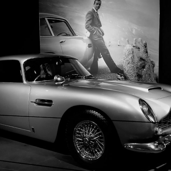 "1964 Aston Martin DB5: The Original James Bond 007 ""Goldfinger"" Movie Car"