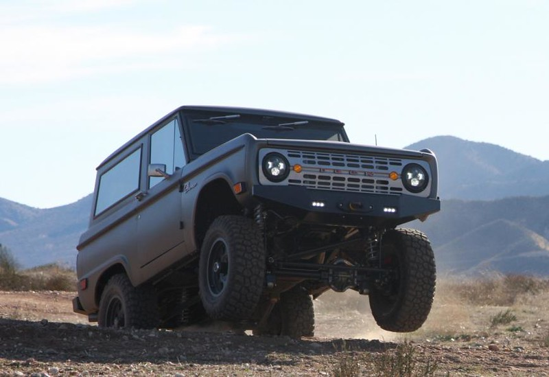 Bronco off road