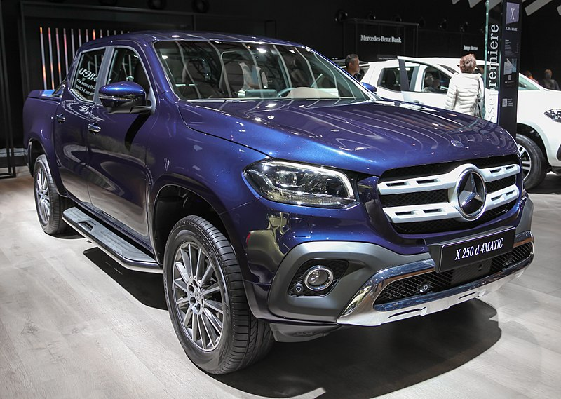 mercedes benz x class a new breed of pickup truck. Black Bedroom Furniture Sets. Home Design Ideas