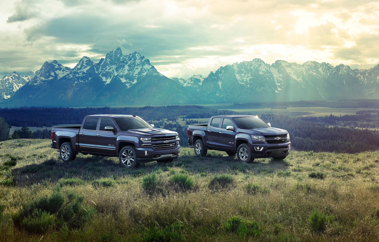 Chevy Trucks Celebrate 100th Birthday Tirebuyercom Blog 1949 Truck Paint Colors 2018 Centennial Edition Silverado And Colorado To Commemorate 100 Years Of Both