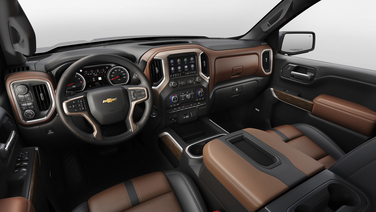 new chevy interior