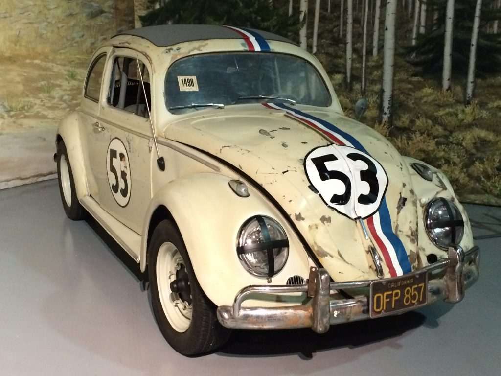Volkswagen Beetle named Herbie