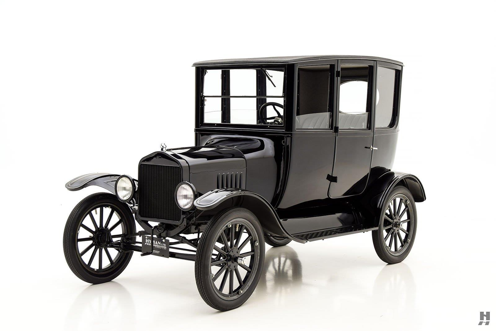 On september 27 1908 the first ford model t left the factory in detroit michigan to describe the event as a significant moment in american automotive