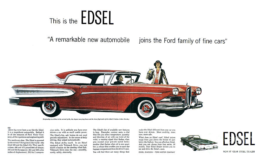 The History of the Edsel