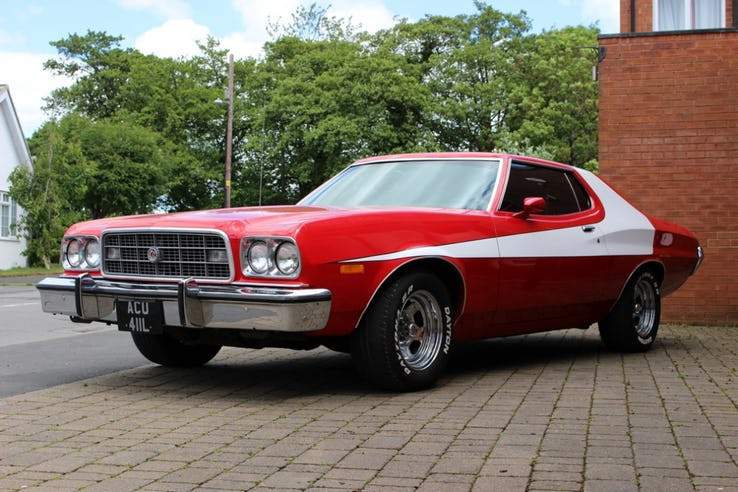 All About The Gran Torino Featured In Starsky Hutch