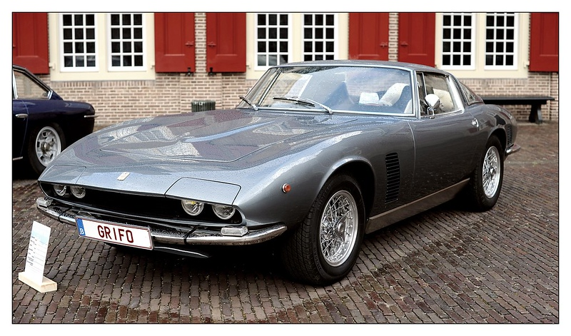 Corvette Corner: The Iso Grifo – A Corvette with an Italian Accent (Photo Credit: Ruud Onos)