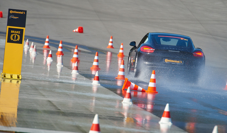 Continental Emphasizes Tread Depth for Safety