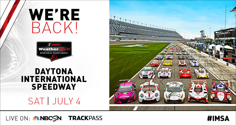 "IMSA ""We're Back!"" Announcement"