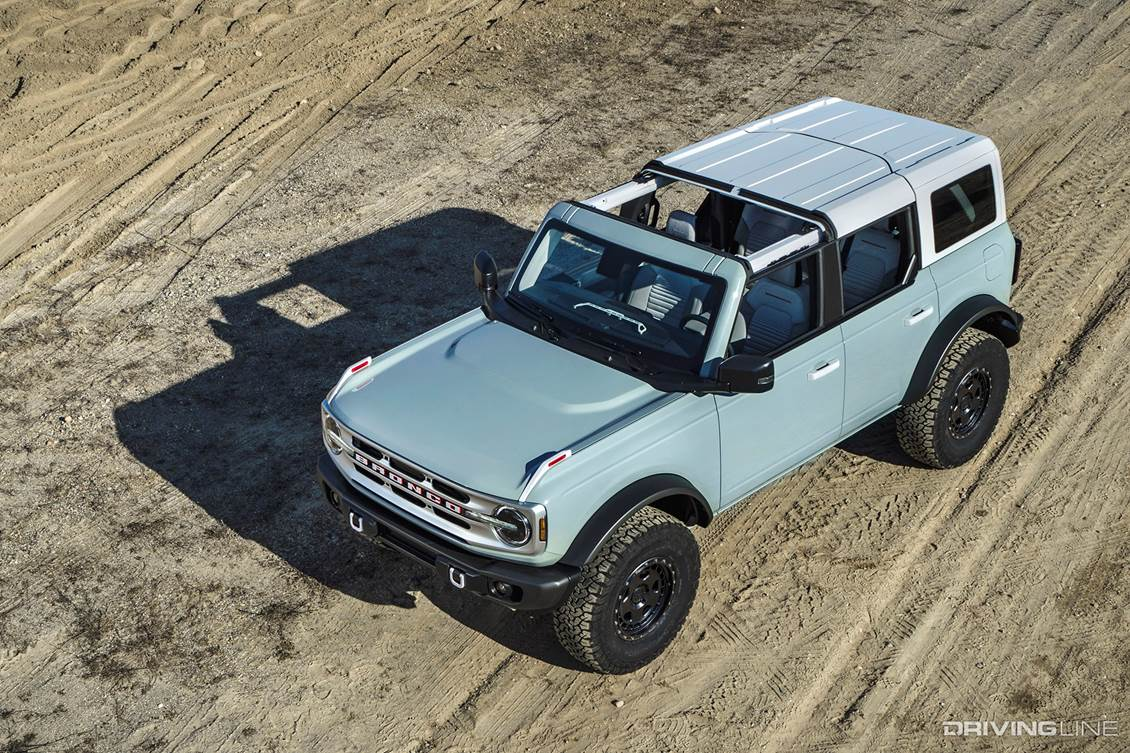 2021 Ford Bronco vs Jeep Wrangler & Toyota 4Runner How Does the Competition Stack Up