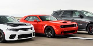 Durango Hellcat, Charger Redeye & Challenger Super Stock Dodge Triples Down on Muscle for 2021