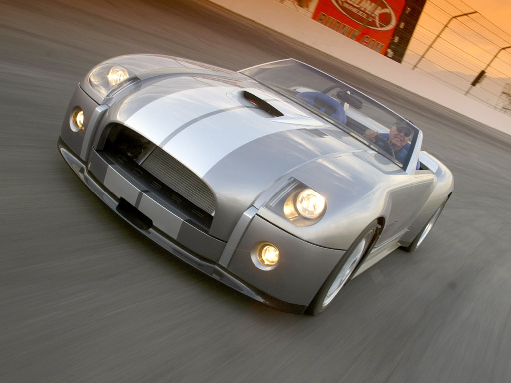 Cars We Love: 2004 Ford Shelby Cobra Concept
