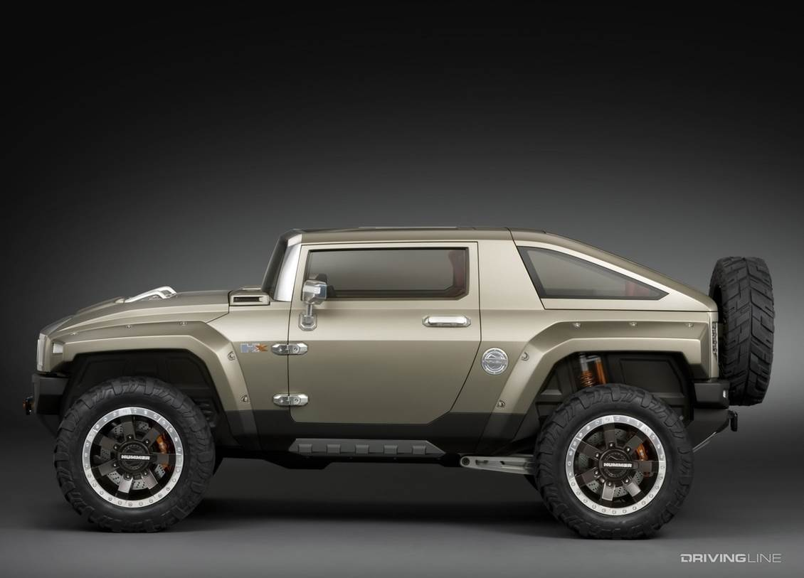 The Hummer HX Concept Could Have Saved GM's Off-Road Brand From Itself
