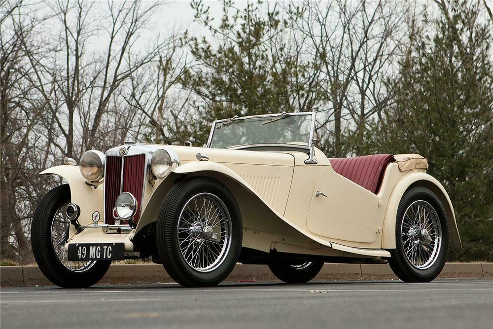 MG TC and TD Breathe Life into the First Corvette